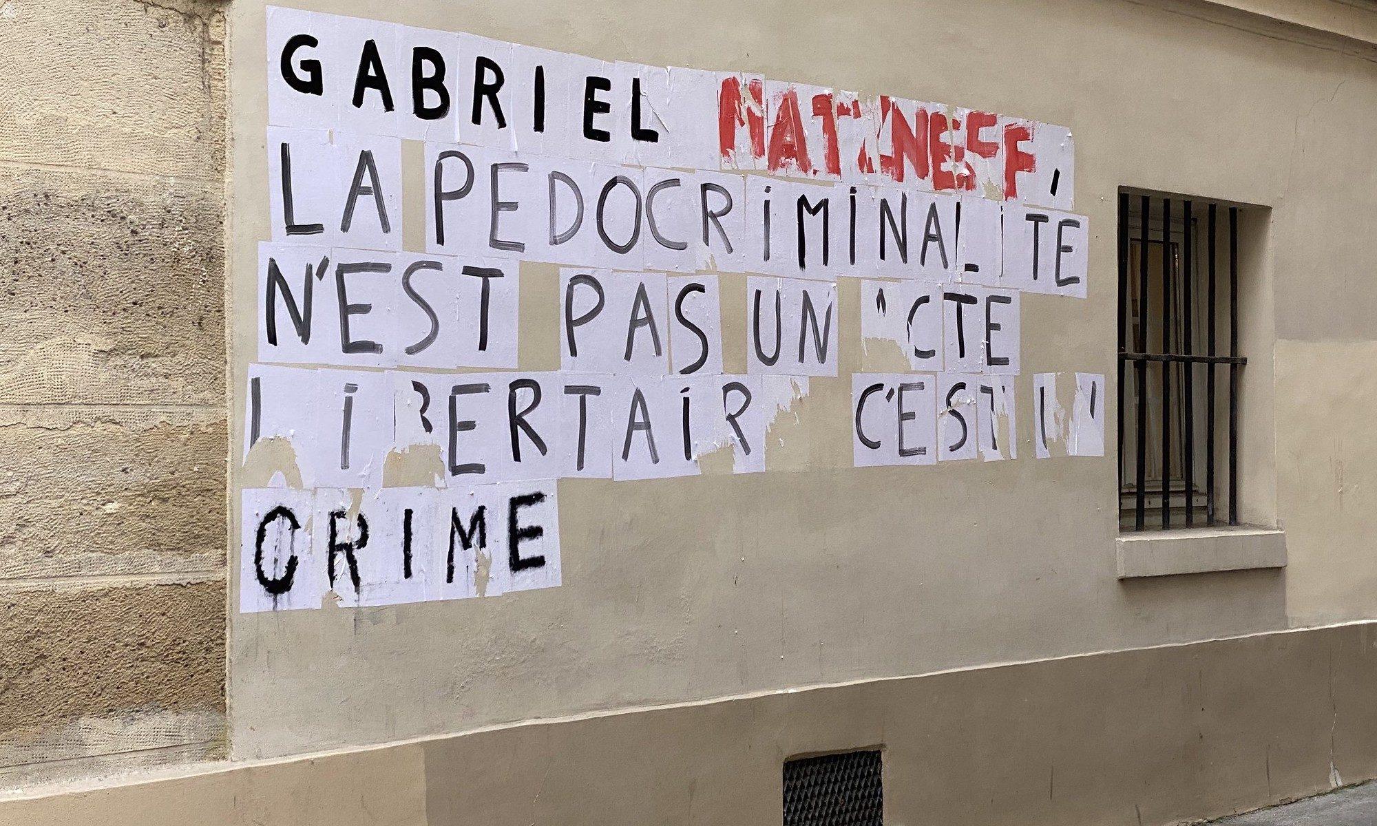 Photo : ActuaLittéGabriel Matzneff - HLM dans le Quartier latin, CC-by-sa par ActuaLitté https://flic.kr/p/2ijNxdn