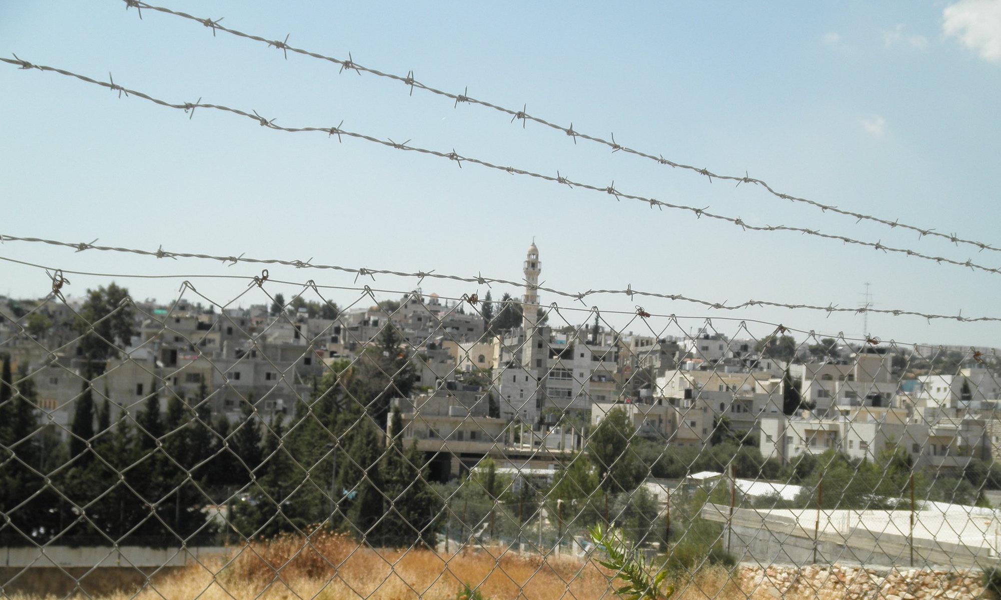 Photo : A city under apartheid CC-by-NC par myheartinpalestineII https://flic.kr/p/a7AQhF