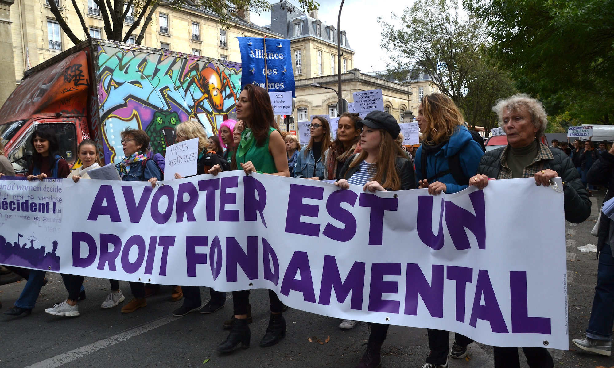 On the street again - Manifestation IVG