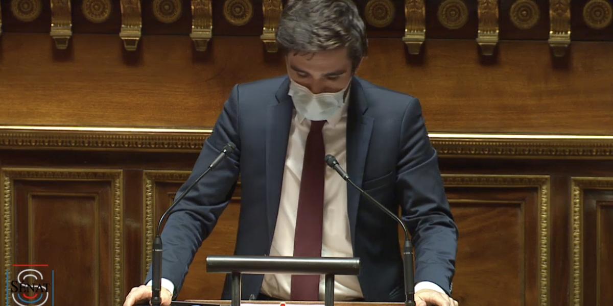 Rémi Cardon, sénateur membre du groupe socialiste écologiste et républicain