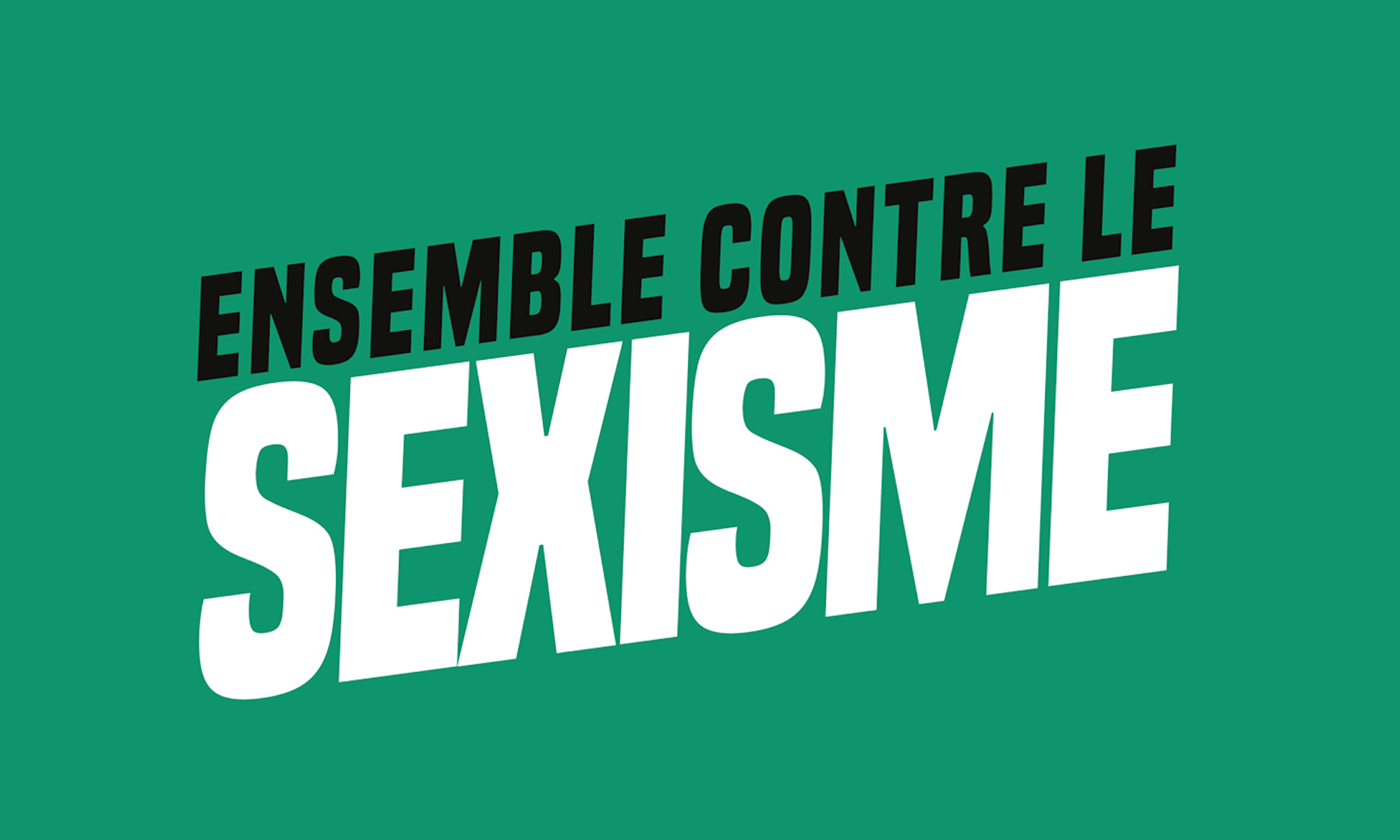 Ensemble contre le sexisme