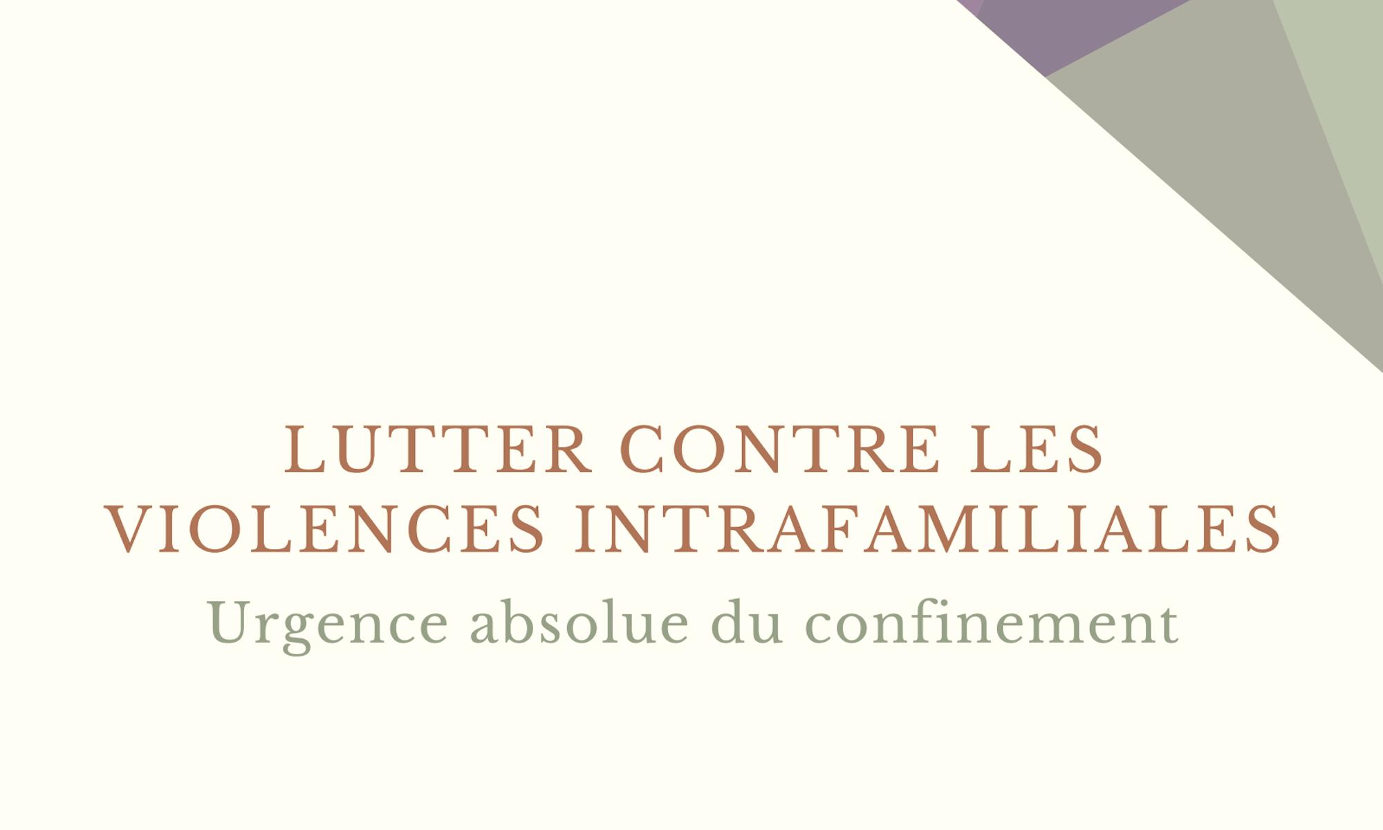 couverture guide Assemblée des Femmes confinement lutte contre les violences intrafamiliales