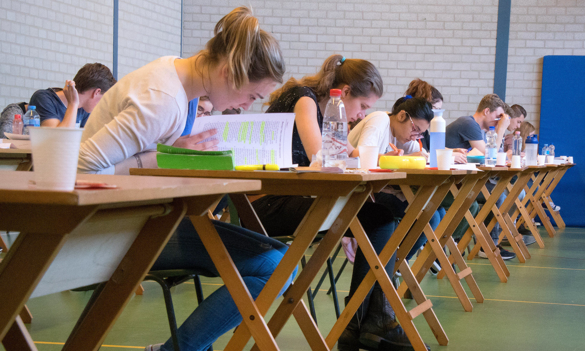 Photo : Examen 2017 CC-by-nc-nd par Frans Peteers https://flic.kr/p/U6kx6y